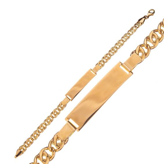 Mücevher Dünyası - 14 Ayar Altın Çocuk Künye