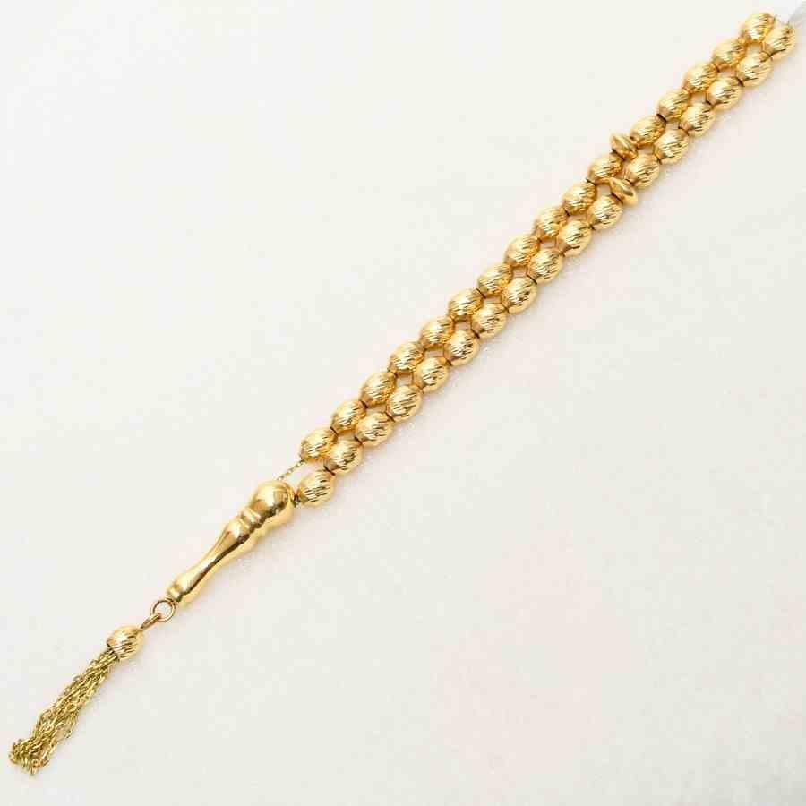 Mücevher Dünyası - 14 Ayar Altın Tesbih | Mücevher Dünyası
