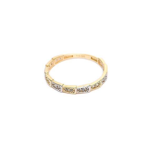 Mücevher Dünyası - 14 Ayar Dorika Altın Eklem Yüzük