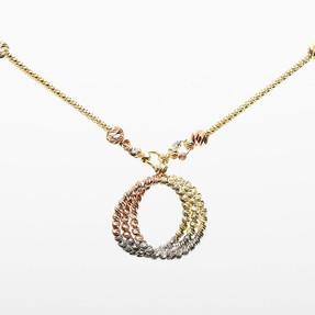 Mücevher Dünyası - 14 Ayar Dorika Altın Kolye | Mücevher Dünyası