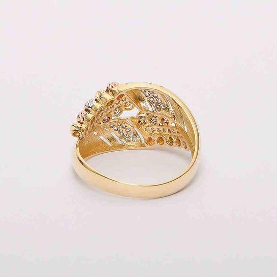 Mücevher Dünyası - 14 Ayar Dorika Altın Yüzük | Mücevher Dünyası