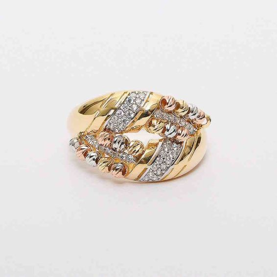 Mücevher Dünyası - 14 Ayar Dorika Altın Yüzük   Mücevher Dünyası - 19