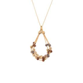 Mücevher Dünyası - 14 Ayar Dorika Toplu Burgu Altın Kolye