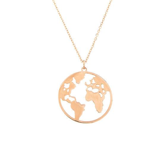 Mücevher Dünyası - 14 Ayar Dünya Altın Kolye