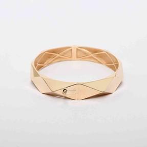 - 14 Ayar Geometrik Altın Bilezik & Kelepçe | Mücevher Dünyası