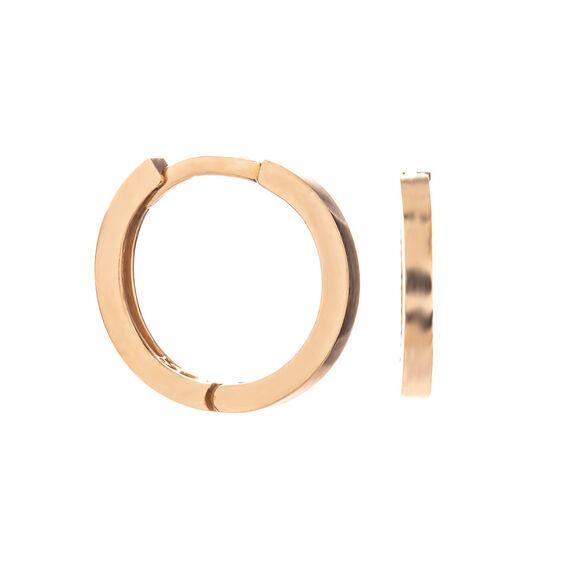 Mücevher Dünyası - 14 Ayar Halka Altın Küpe