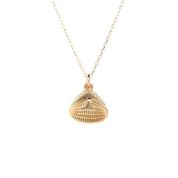 Mücevher Dünyası - 14 Ayar İşlemeli Altın Kolye
