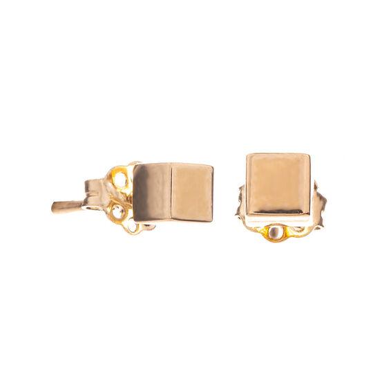 Mücevher Dünyası - 14 Ayar Küp Altın Küpe