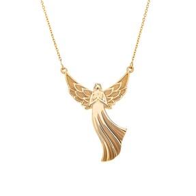 Mücevher Dünyası - 14 Ayar Melek Altın Kolye