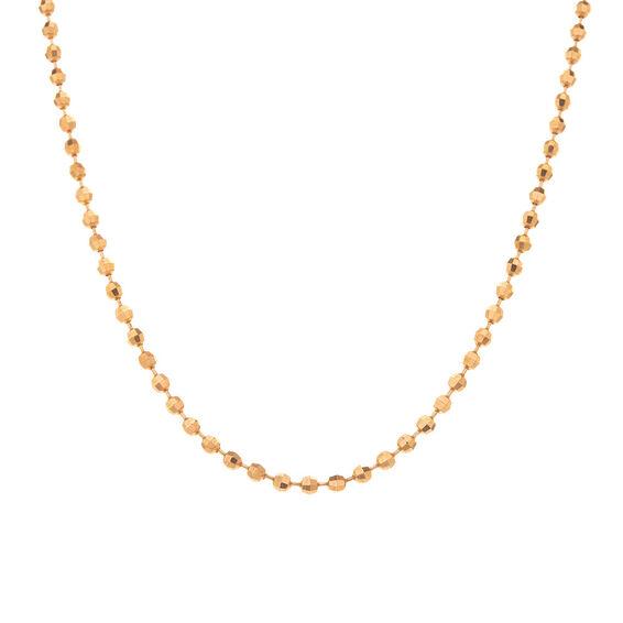 Mücevher Dünyası - 14 Ayar Toplu Altın Zincir