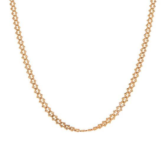 Mücevher Dünyası - 14 Ayar Şık Altın Zincir