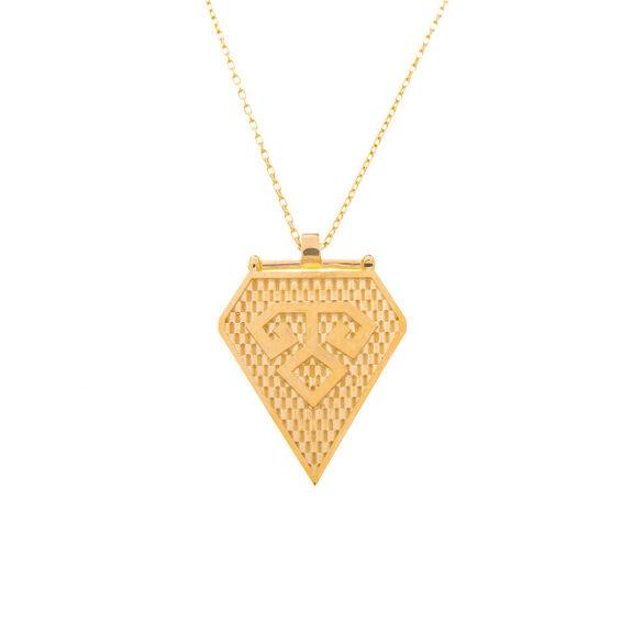 Mücevher Dünyası - 14 Ayar Zarif Model Altın Kolye