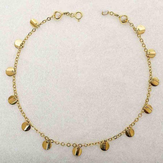 Mücevher Dünyası - 14 Ayar Pullu Altın HalHal | Mücevher Dünyası