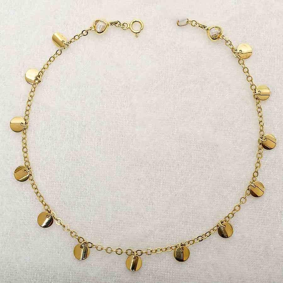 Mücevher Dünyası - 14 Ayar Pullu Altın HalHal   Mücevher Dünyası