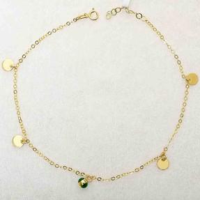 - 14 Ayar Pullu Altın HalHal   Mücevher Dünyası