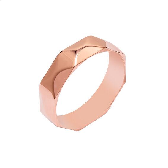 Mücevher Dünyası - 14 Ayar Rose Altın Alyans (Erkek)