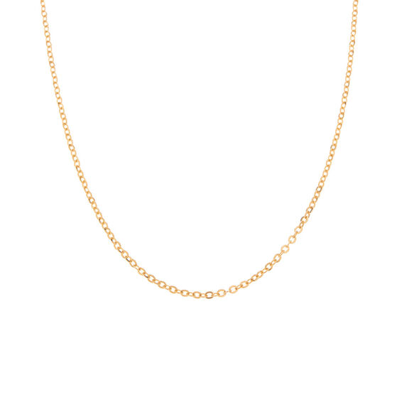 Mücevher Dünyası - 14 Ayar Sade Altın Zincir