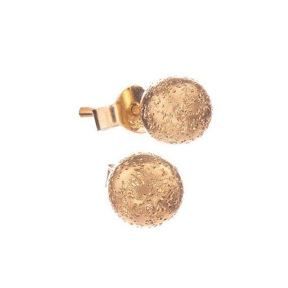 Mücevher Dünyası - 14 Ayar Tasarım Top Altın Küpe