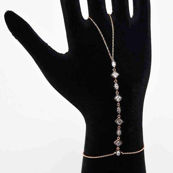 Mücevher Dünyası - 14 Ayar Taşlı Altın Şahmeran | Mücevher Dünyası