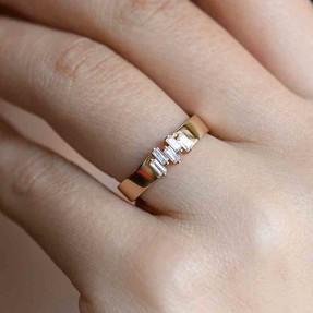 - 14 Ayar Taşlı Altın Yüzük | Mücevher Dünyası