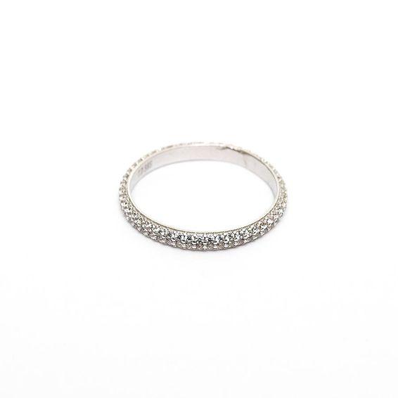 Mücevher Dünyası - 14 Ayar Taşlı Eklem Altın Yüzük