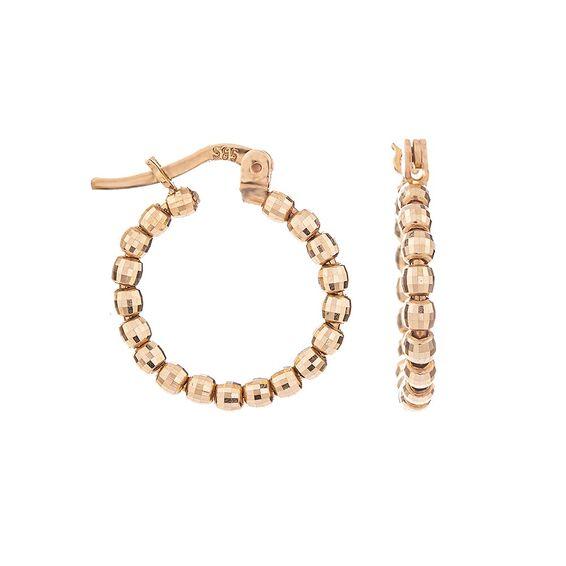 Mücevher Dünyası - 14 Ayar Toplu Halka Altın Küpe