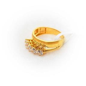 Mücevher Dünyası - 22 Ayar Altın Beştaş Yüzük | Mücevher Dünyası