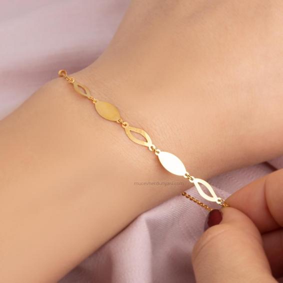 Mücevher Dünyası - 22 Ayar Altın Bileklik - 2,20 Gr.