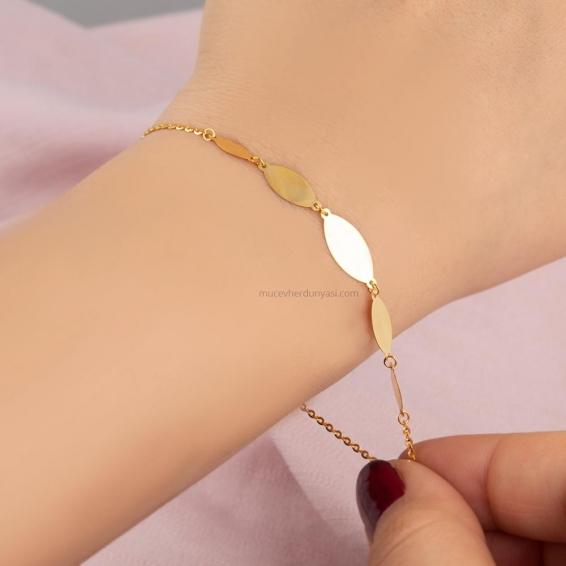 Mücevher Dünyası - 22 ayar Altın Bileklik - 2,22 Gr.