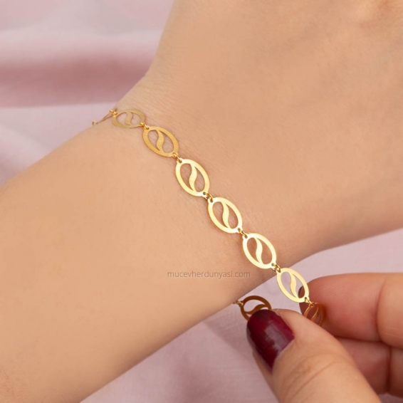 Mücevher Dünyası - 22 ayar Altın Bileklik - 2,56 Gr.
