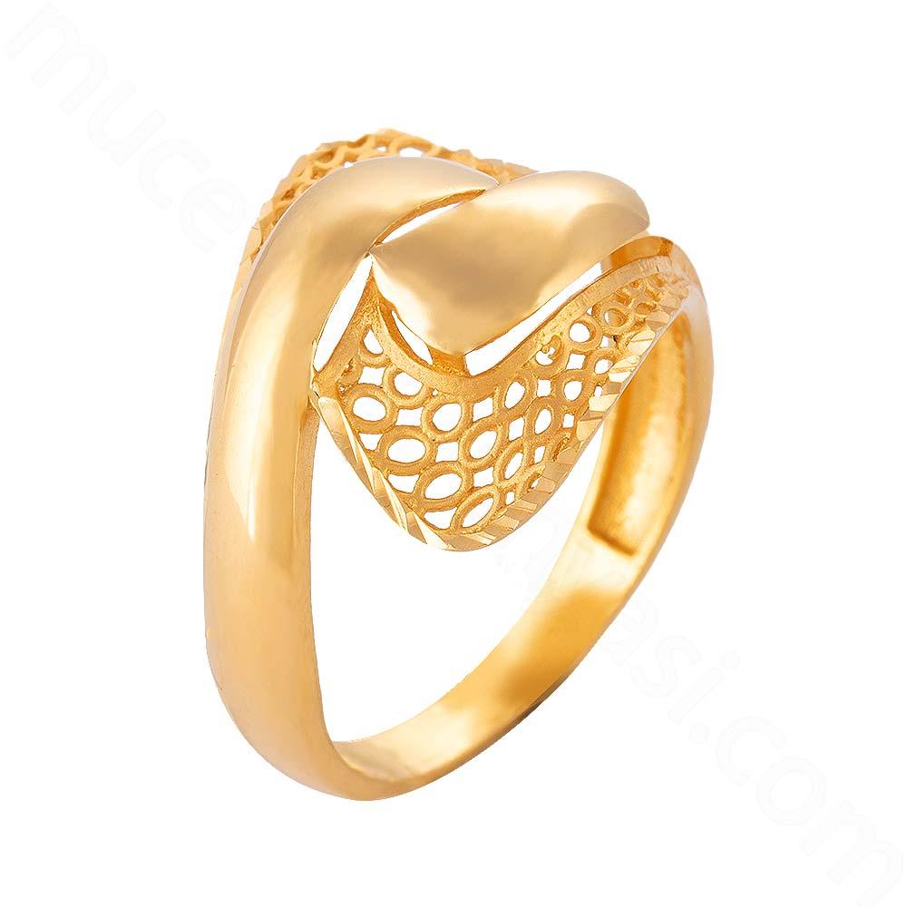 Mücevher Dünyası - 22 Ayar Altın Fanetezi Yüzük - 4,09 Gr.