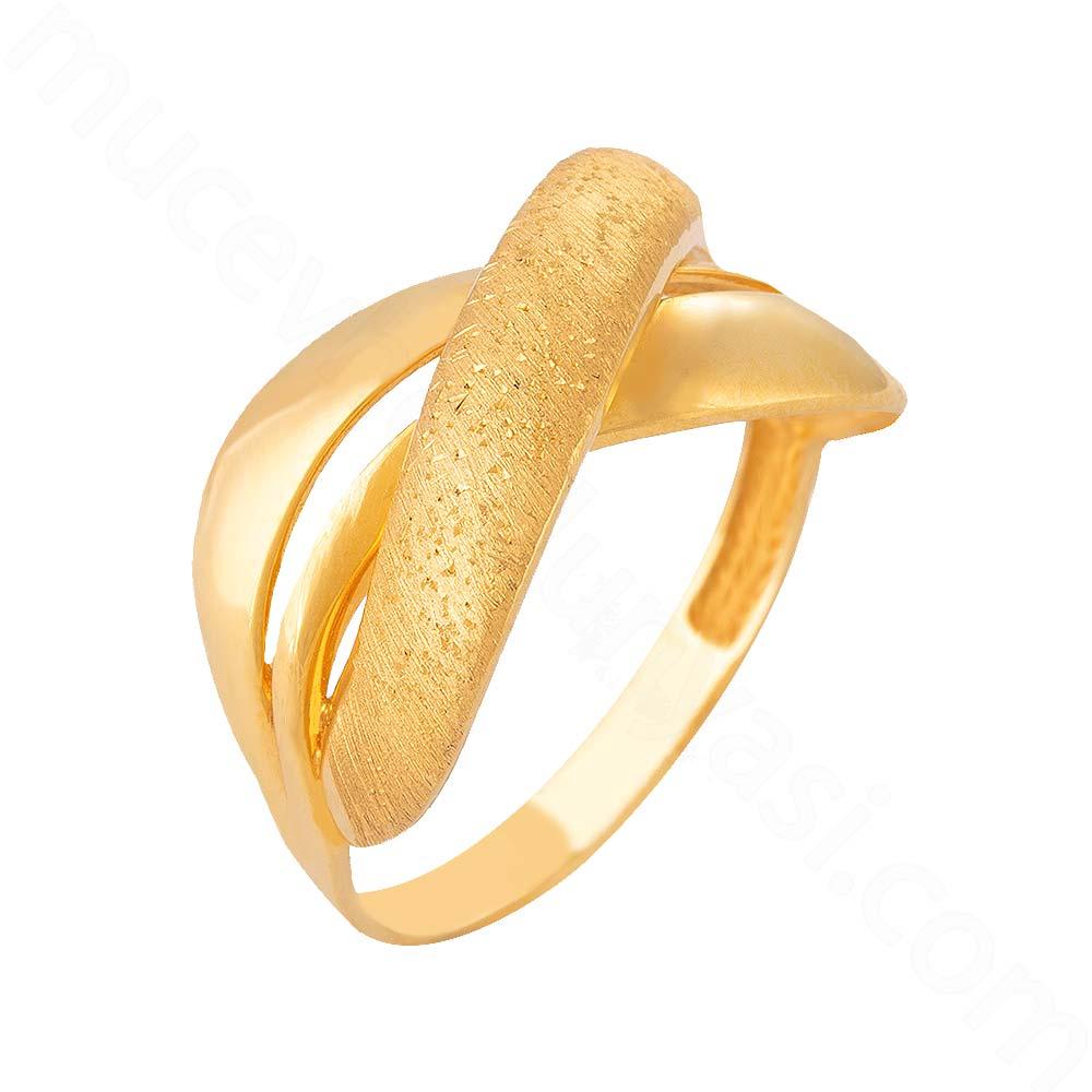 Mücevher Dünyası - 22 Ayar Altın Fantezi Yüzük - 3,78 Gr.