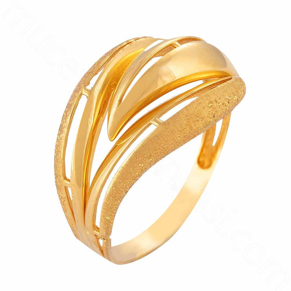 Mücevher Dünyası - 22 Ayar Altın Fantezi Yüzük - 3,80 Gr.
