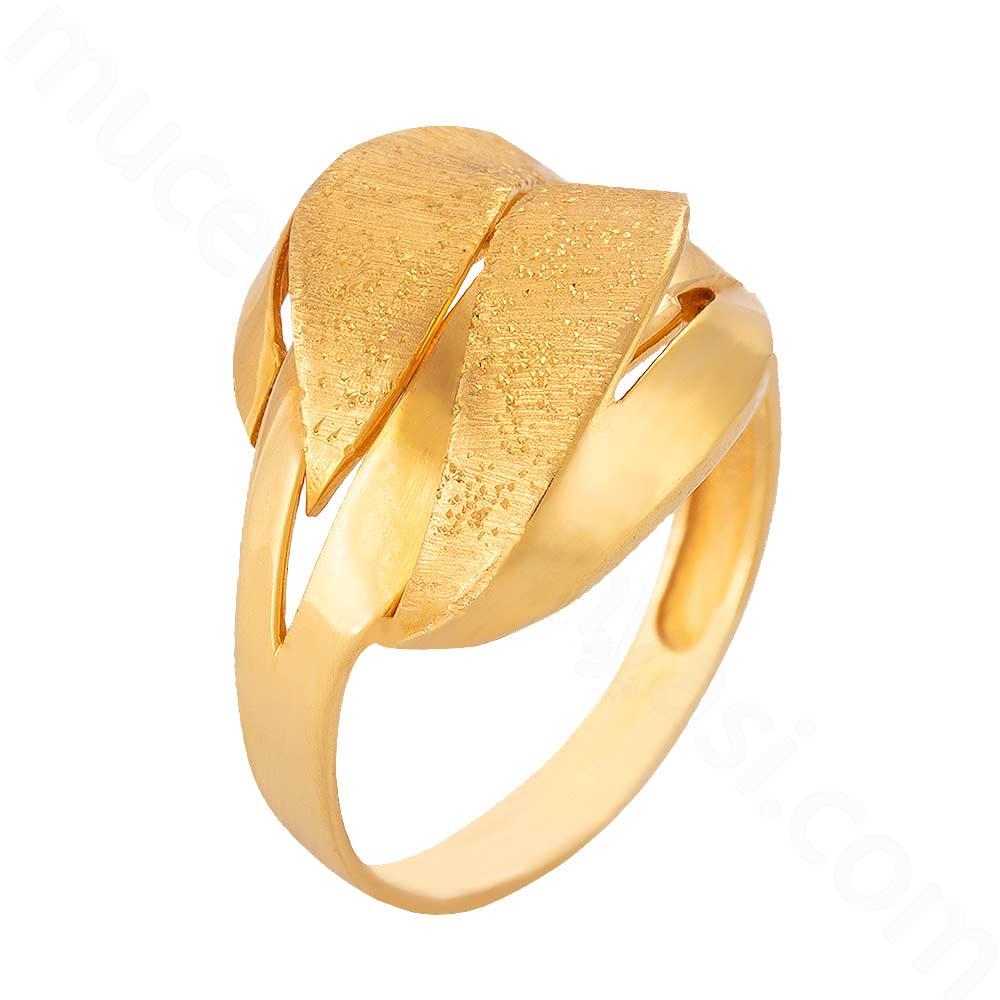 Mücevher Dünyası - 22 Ayar Altın Fantezi Yüzük - 5,03 Gr.