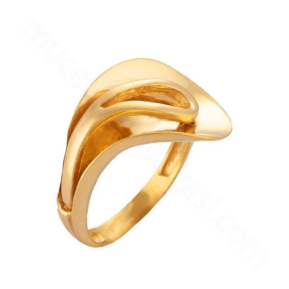Mücevher Dünyası - 22 Ayar Altın Fantezi Yüzük - 5,87 Gr.