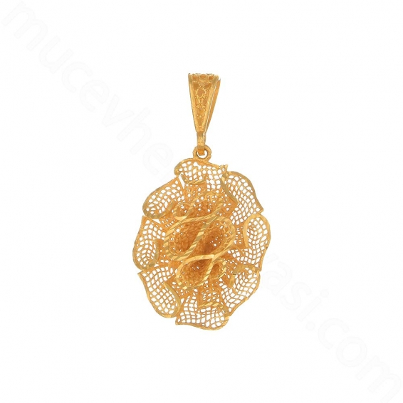 Mücevher Dünyası - 22 Ayar Altın Füzyon Madalyon - 3,88 Gr.