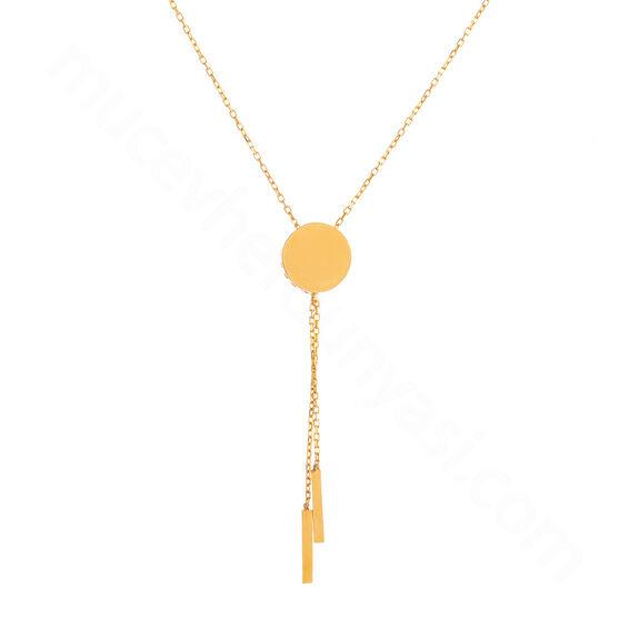 Mücevher Dünyası - 22 Ayar Altın Kolye - 2,69 Gr.