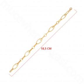 22 Ayar Altın Zincir Bileklik - 3,41 Gr. - Thumbnail