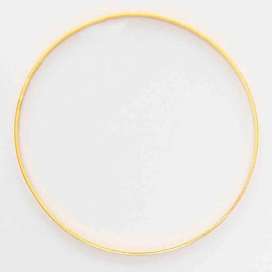 Mücevher Dünyası - 22 Ayar Çocuklar İçin Düz Altın Bilezik & Kelepçe - 5,85 Gr.