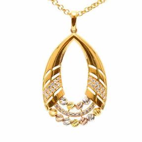 - 22 Ayar Dorika Altın Madalyon   Mücevher Dünyası