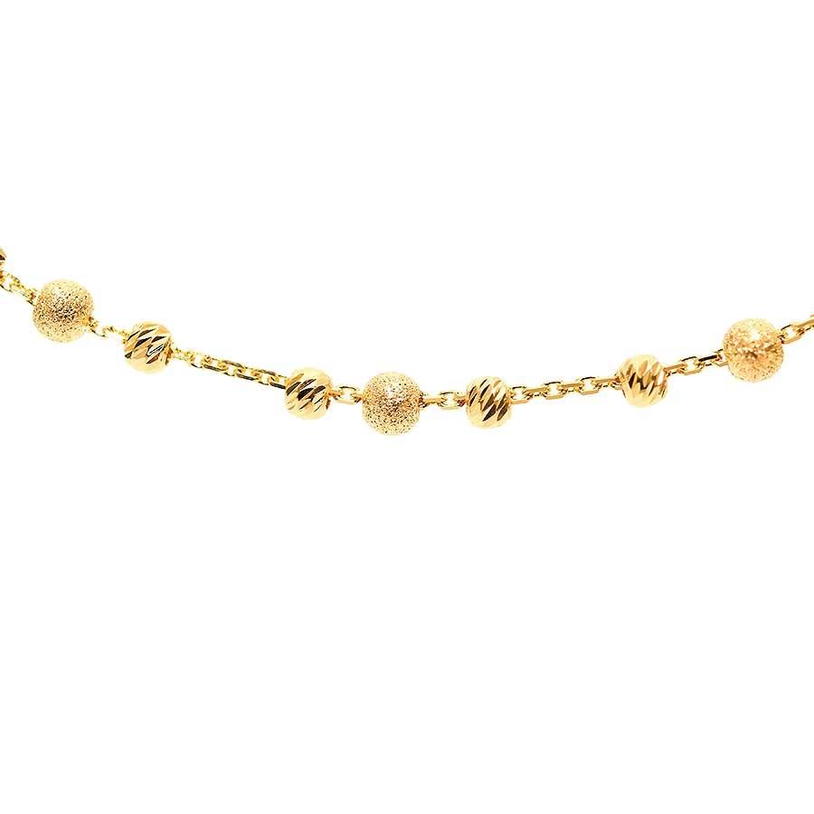 Mücevher Dünyası - 22 Ayar Dorika Toplu Altın Kolye - 12.34 Gr.
