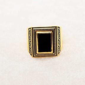 22 Ayar Erkek Altın Yüzük | Mücevher Dünyası - Thumbnail