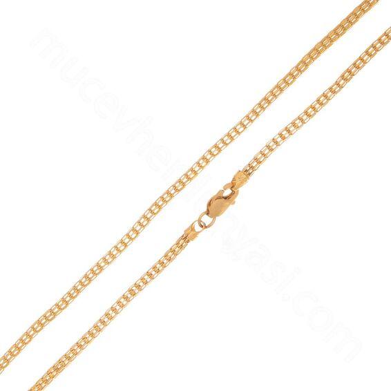 Mücevher Dünyası - 22 Ayar Erkek Altın Zincir 47.00 Cm - 7,03 Gr.