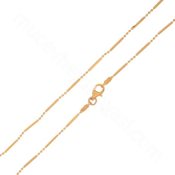 Mücevher Dünyası - 22 Ayar Erkek Altın Zincir 50.00 Cm - 4,03 Gr.