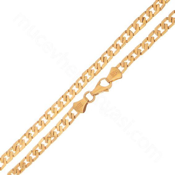 Mücevher Dünyası - 22 Ayar Erkek Altın Zincir 60.00 Cm - 33,20 Gr.