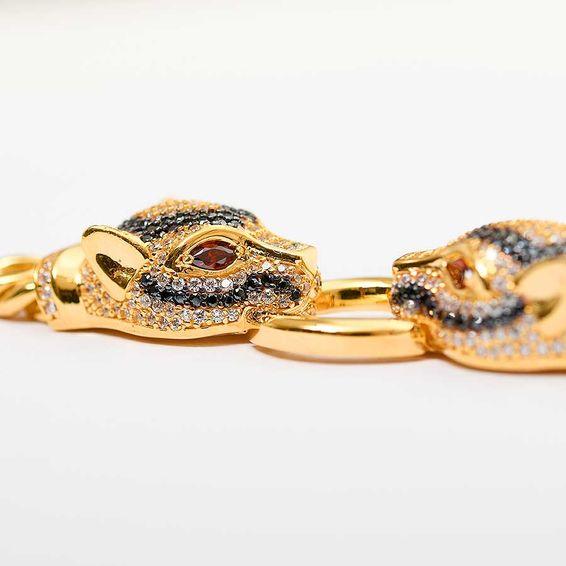 22 Ayar İtalyan Puma Altın Bileklik | Mücevher Dünyası