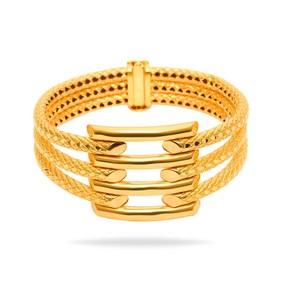 Mücevher Dünyası - 22 Ayar Kaburga Altın Bilezik - Mücevher Dünyası