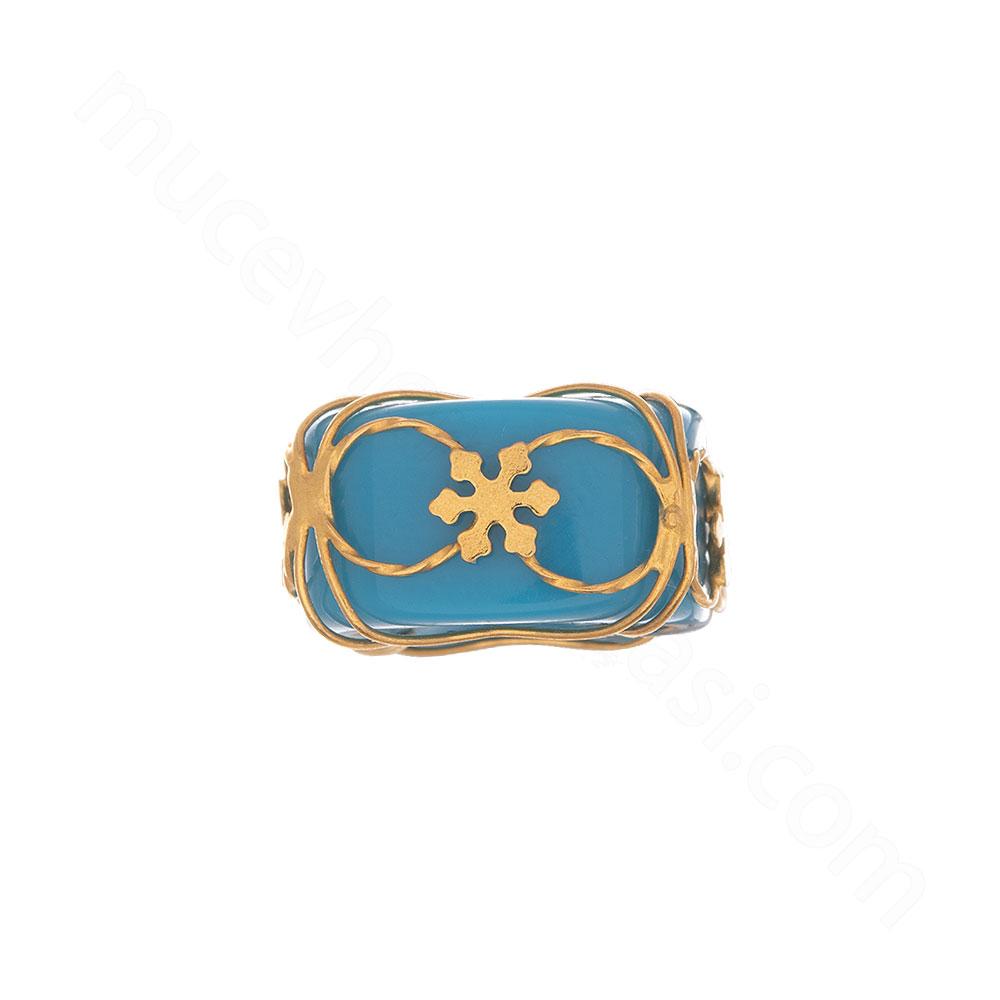 Mücevher Dünyası - 22 Ayar Kar Tanesi Altın Kolye Ucu - 0,54 Gr.