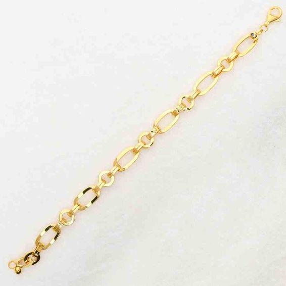 Mücevher Dünyası - 22 Ayar Modern Bileklik - 8,85 Gr.