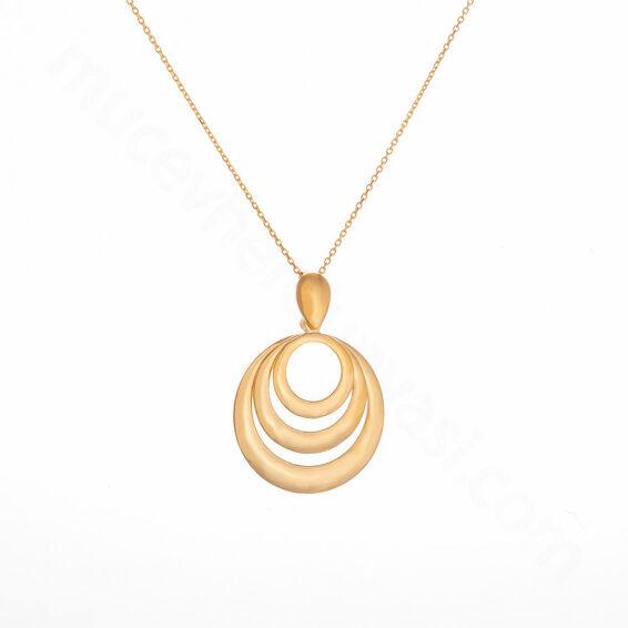 Mücevher Dünyası - 22 Ayar Özel Tasarım Altın Kolye - 5,77 Gr.